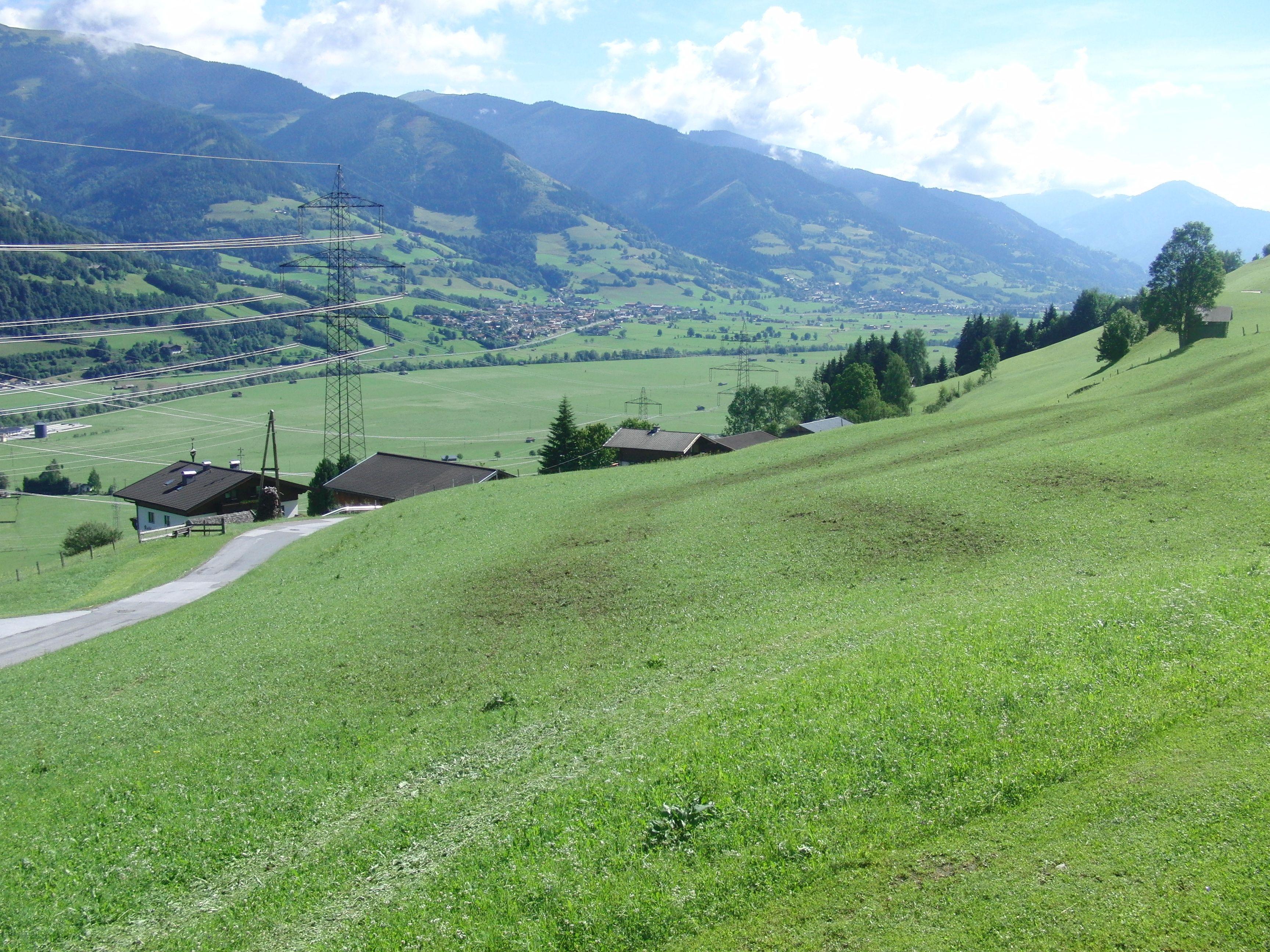 Ausblick aufs Tal