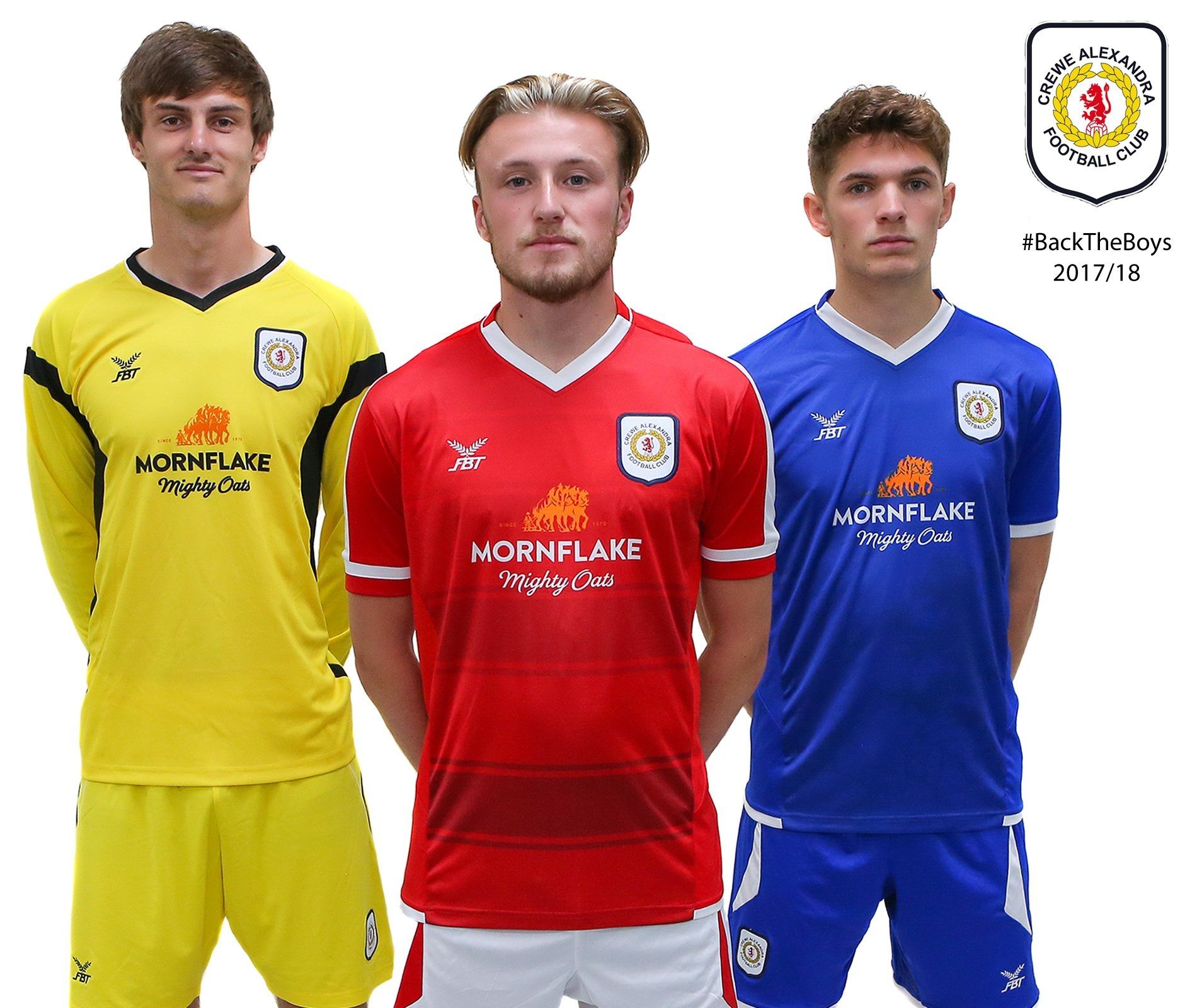 868ba016378 Bristol City 2017/2018 Home (Red), Away (Blue) and GK (Yellow) kits ...