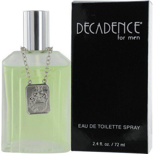 Parlux Fragrances Decadence Eau De Toilette Spray for Men, 2.4 Ounce by Parlux Fragrances. $13.79. Brand New item. PARLUX FRAGRANCE. Mens Perfume. EDT SPRAY 2.4 OZ