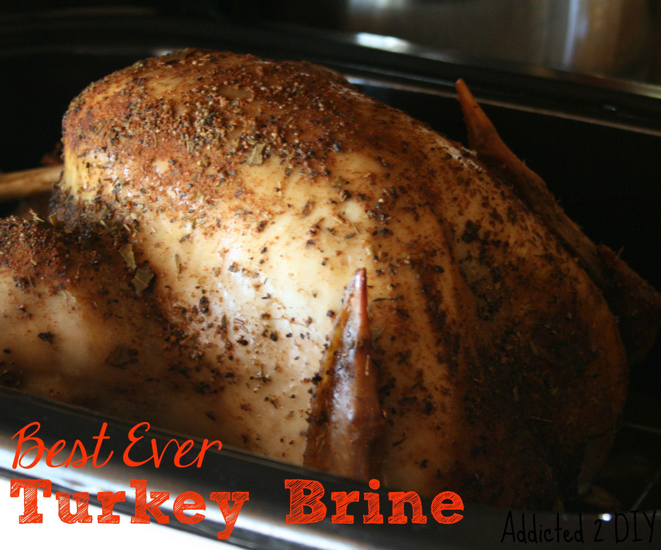 Best Ever Turkey Brine - Addicted 2 DIY