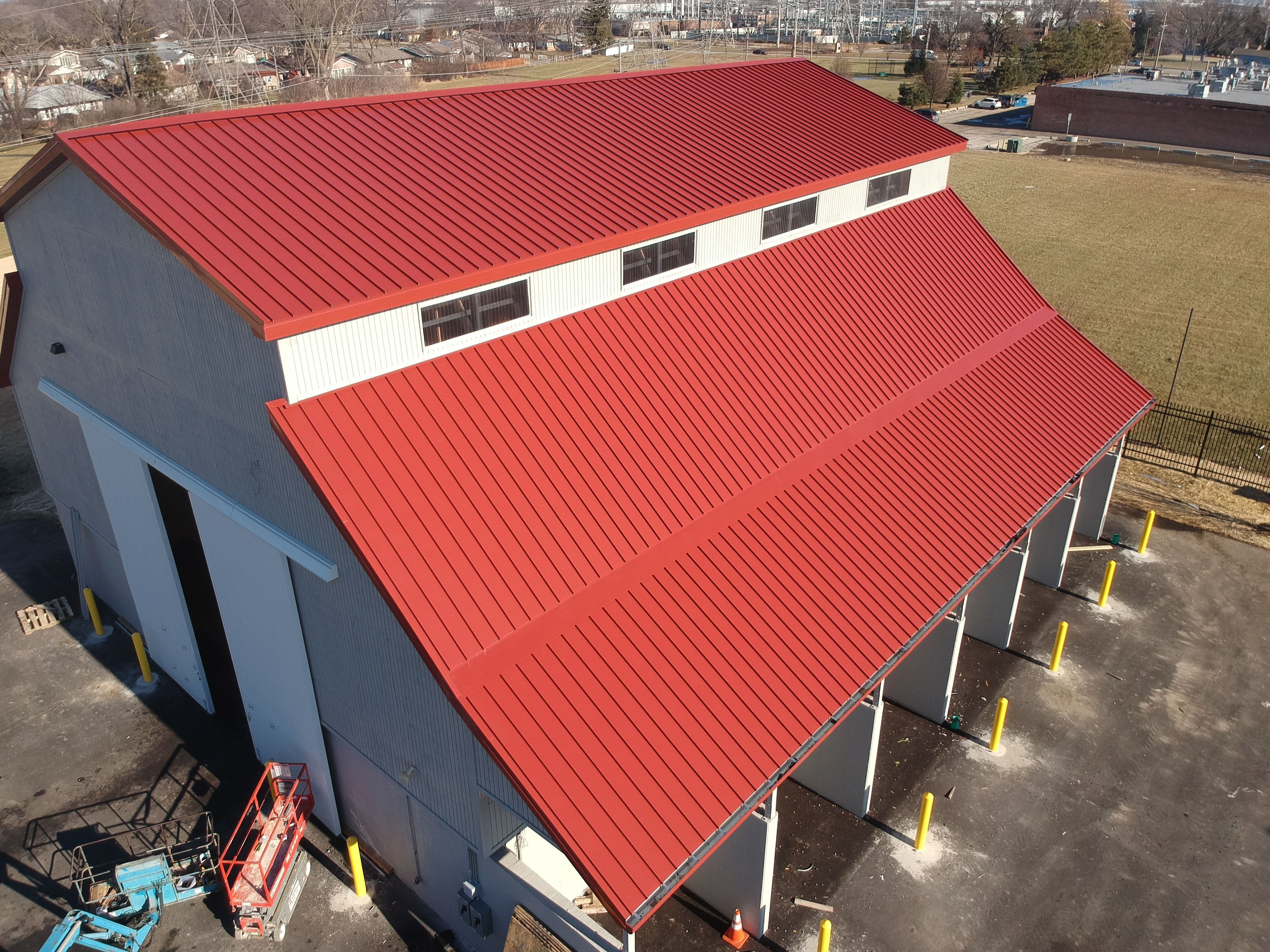Standing Seam Metal Roofing Standing Seam Pvc Roofing