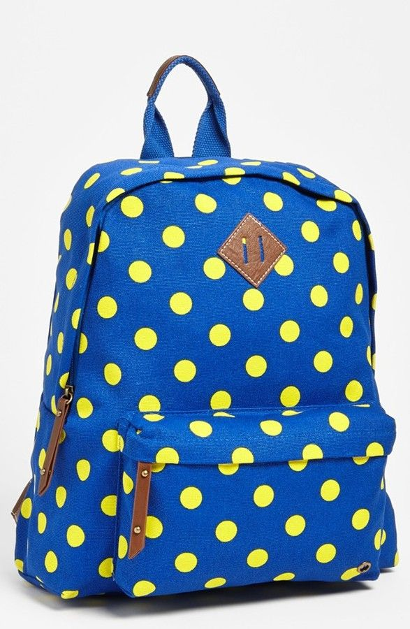 a8845d278 Steven by Steve Madden 'Madden Girl' Canvas Backpack $48.00 - Fun polka dots