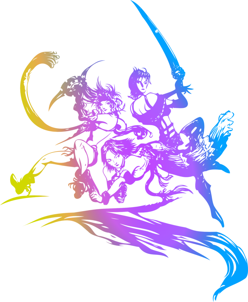 Final Fantasy X2 logo by eldi13 Final fantasy logo