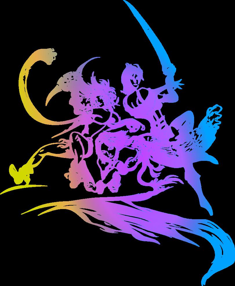 Final Fantasy X2 logo by eldi13 Final fantasy logo