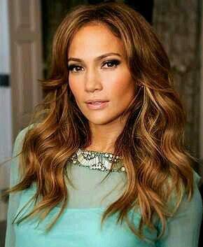 #jlo #copperhair #beauty #eyes #fashion #sass #glanour #lightcurls #shortbang #longhair
