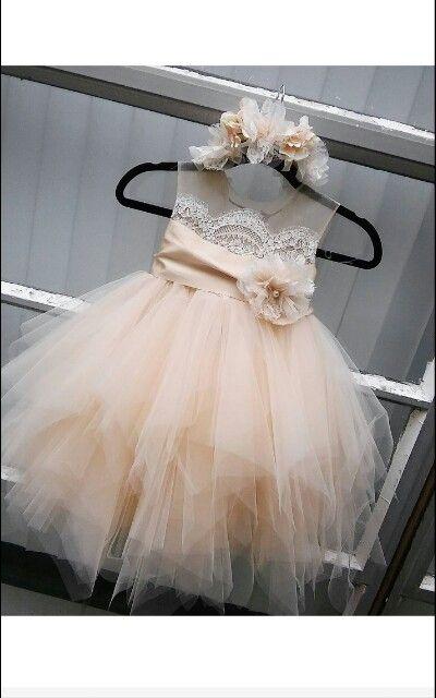 c34962f789d flower girl dress  Bianca  with rhinestone sash