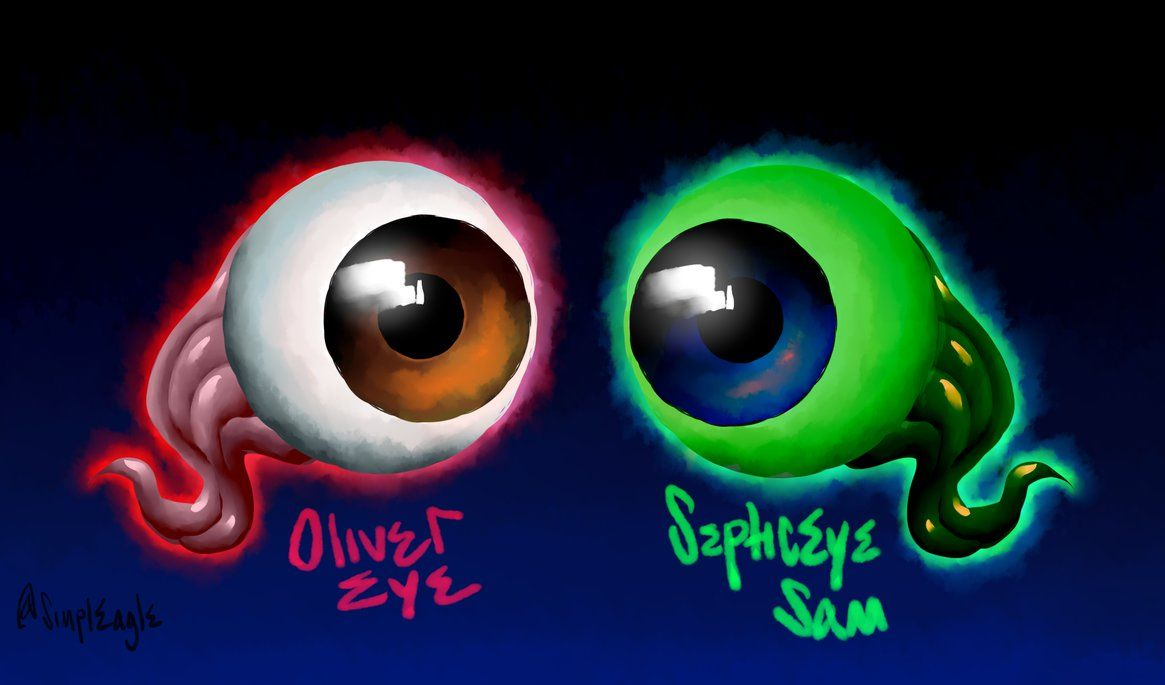 A Septic Eye oliver eye and septiceye samsimpleagle on deviantart