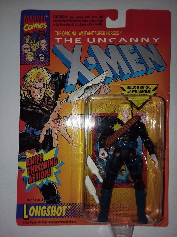 Marvel Comics The Uncanny X-Men Longshot Toy Biz Action Figure