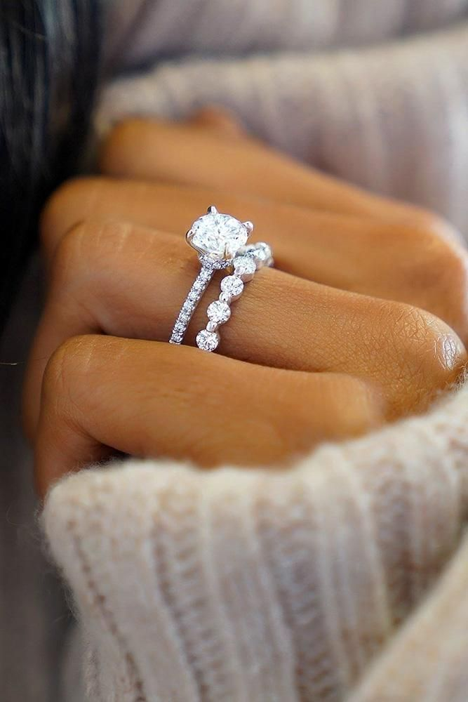 21 Excellent Wedding Ring Sets For Beautiful Women