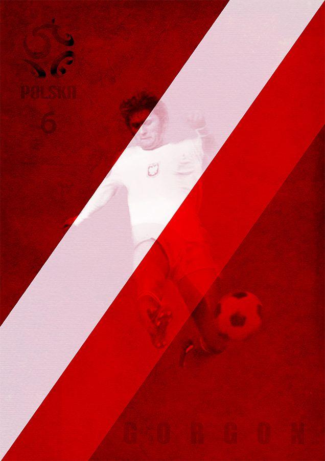 BEST OF POLAND – FOOTBALL 1972 -1974    Jerzy Gorgoń    by Dieselfly