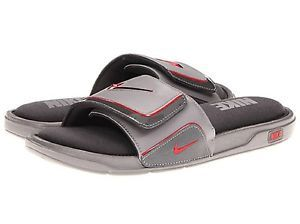 269c9d795c7da6 Nike Comfort sandals Slide 2 Mens Sandals Gray Grey Red Close Out ...
