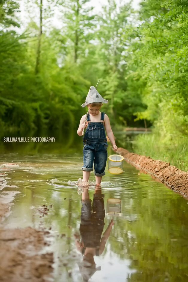 Lindsey mills for sullivan blue photography boat river for Little boy fishing