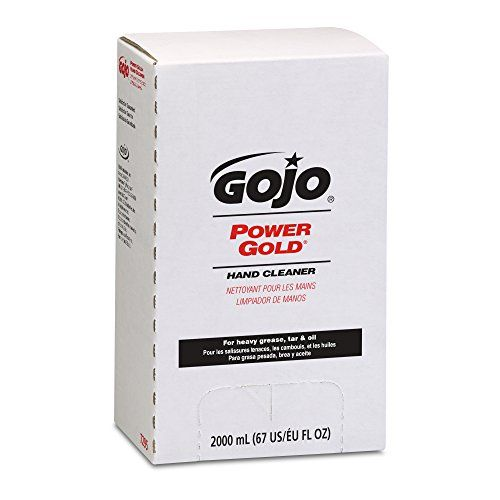 Gojo 7295 Power Gold Hand Cleaner Citrus Scent 2000ml R Citrus Scent Clean Hands Hand Lotion