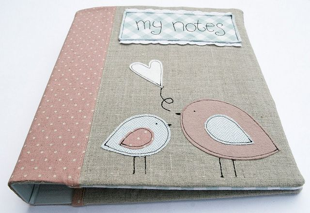 spring notebook cover