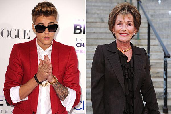 Judge Judy Calls Justin Bieber A Fool Judge Judy Call Justin Bieber Justin Bieber