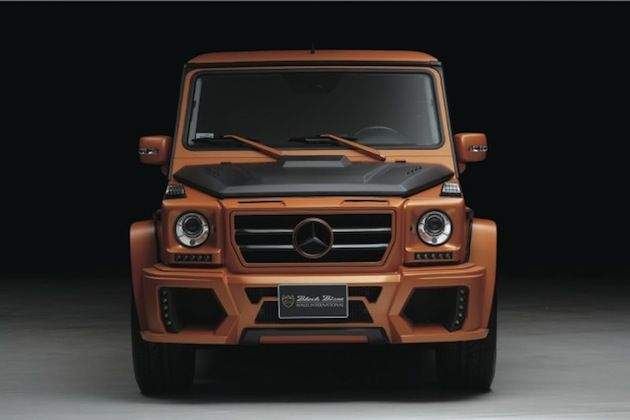mercedes benz g class sports line black bison by wald international