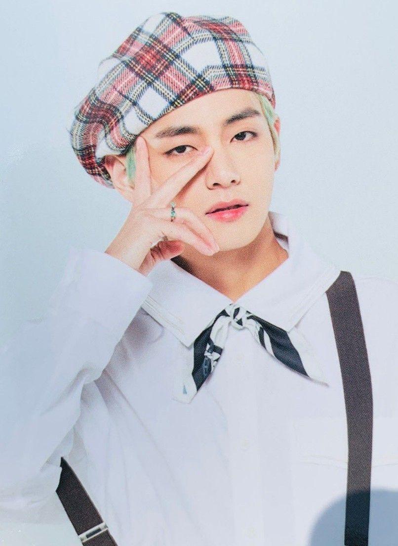 Muster 2019 Photocard Taehyung V Orang Gambar Suami