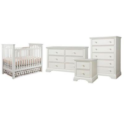Westwood Design Wyatt Nursery Furniture Collection Featuring Wyatt Cottage Crib In White Buybuybaby Co Nursery Furniture Collections Furniture Baby Furniture