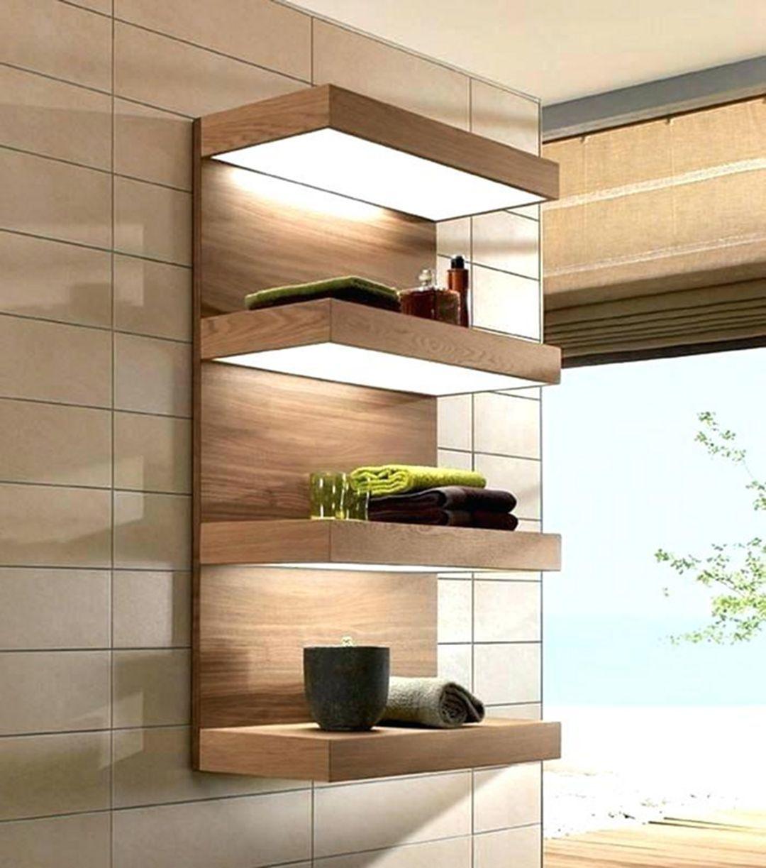 4 Lovely Bathroom Shelves Ideas For More Elegant  Bathroom