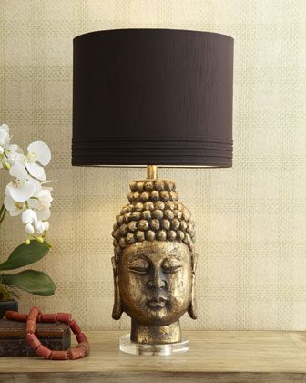 Sanctuary table lamp at horchow