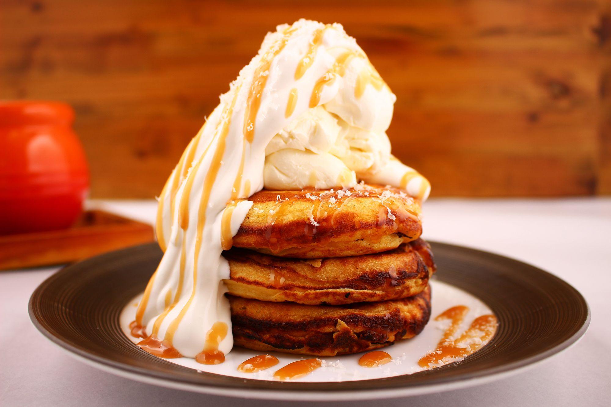 """パンケーキマニア集団が開発した『玄米パンケーキ』を渋谷Bee Houseにて""""1日100食限定""""で3日間限定販売"""