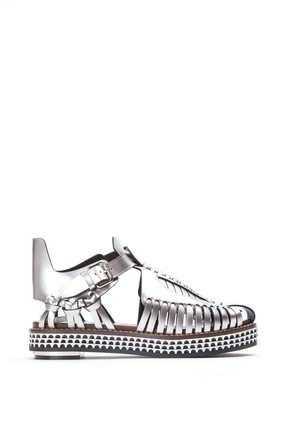 Proenza Schouler Gladiator Platform Sandals
