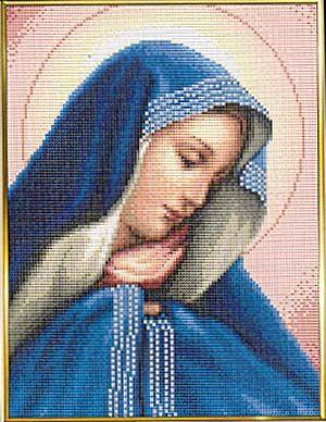 Madonna Dolorosa (Virgin Mary) - Cross Stitch Pattern | Mary | Cross