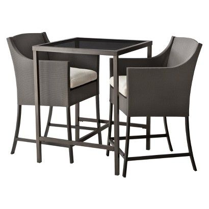 Exceptionnel Target Home™ Gallery 3 Piece Sling Patio Bar Height Bistro Furniture Set