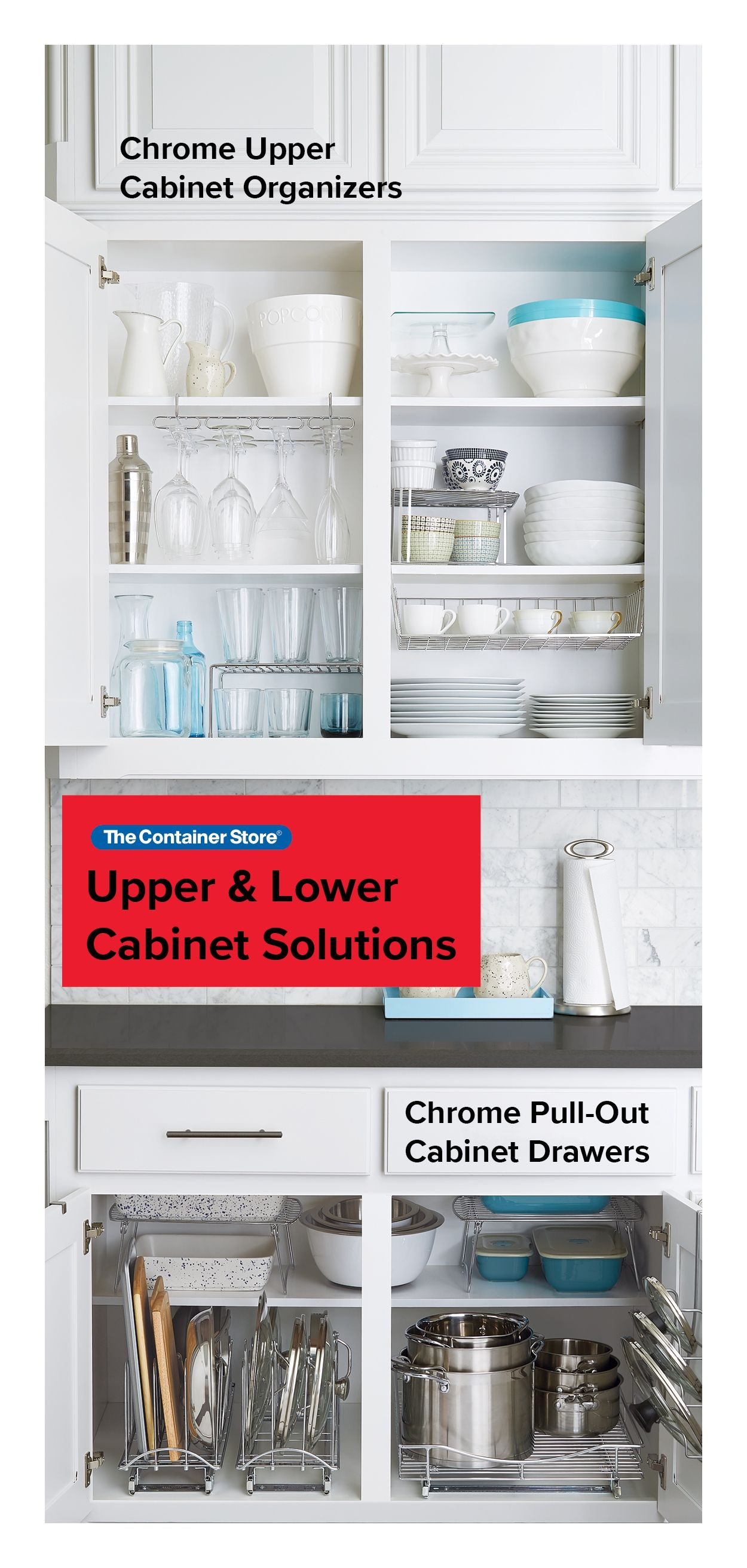 Easy Ways To Organize Your Upper And Lower Kitchen Cabinets Kitchen Cabinet Storage Cabinets Organization Kitchen Cabinet Organization