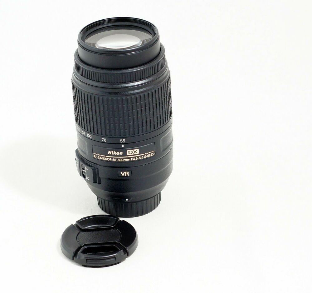 Nikon Af S Dx Nikkor 55 200mm F 4 5 6g Ed Vr Telephoto Zoom Lens Ebay Nikon D7200 Digital Camera Lens Nikon Lens
