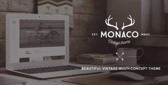 Monaco – Vintage Multi-Concept WordPress Theme | Wordpress ...