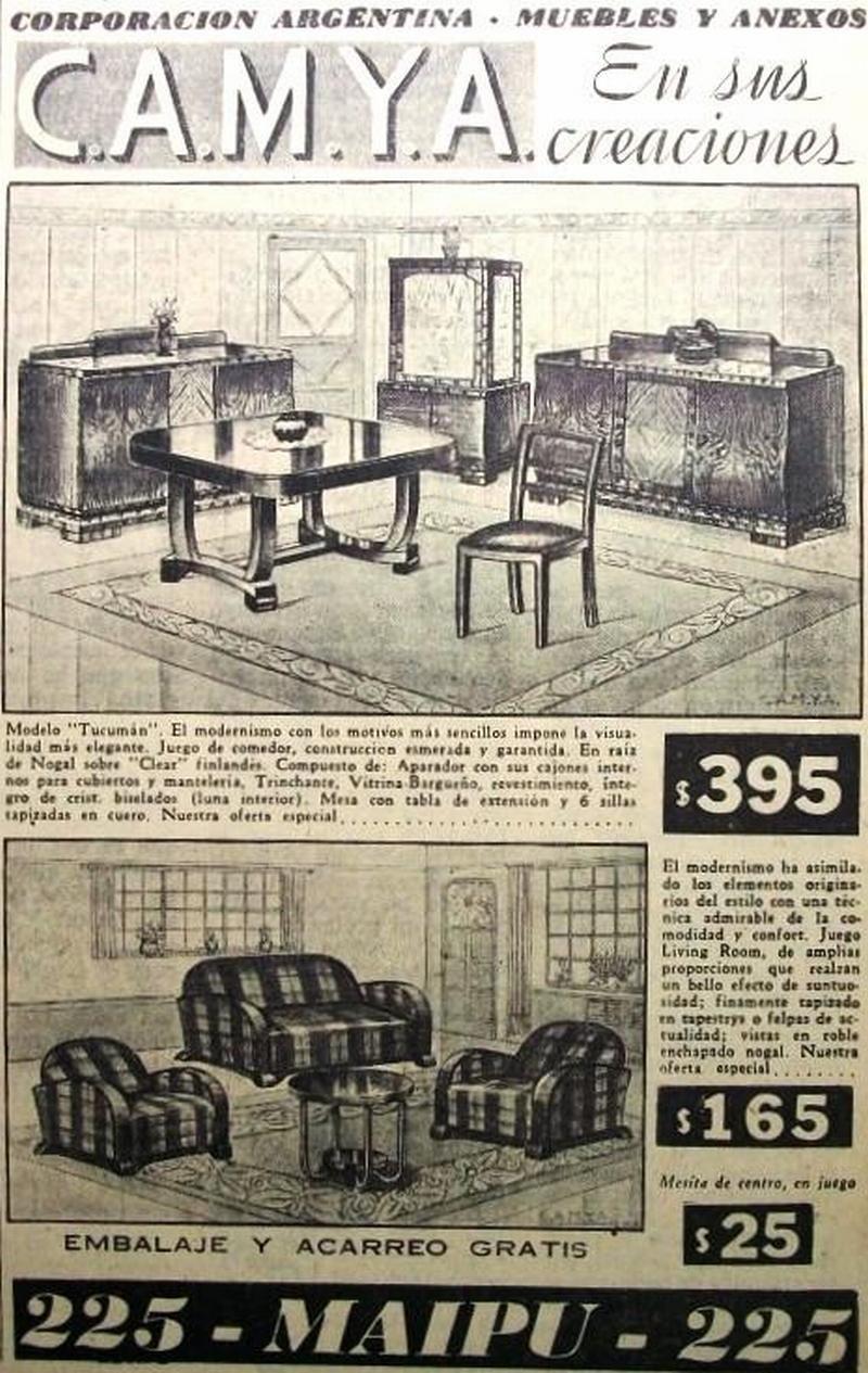 Camya Muebles 1935