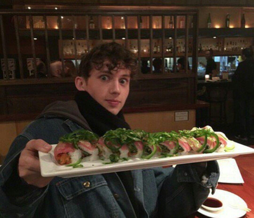 Good appetite Troye 😋