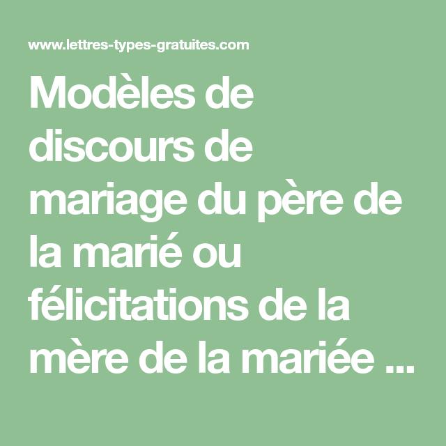 Discours Mariage Humoristique Père Du Marié