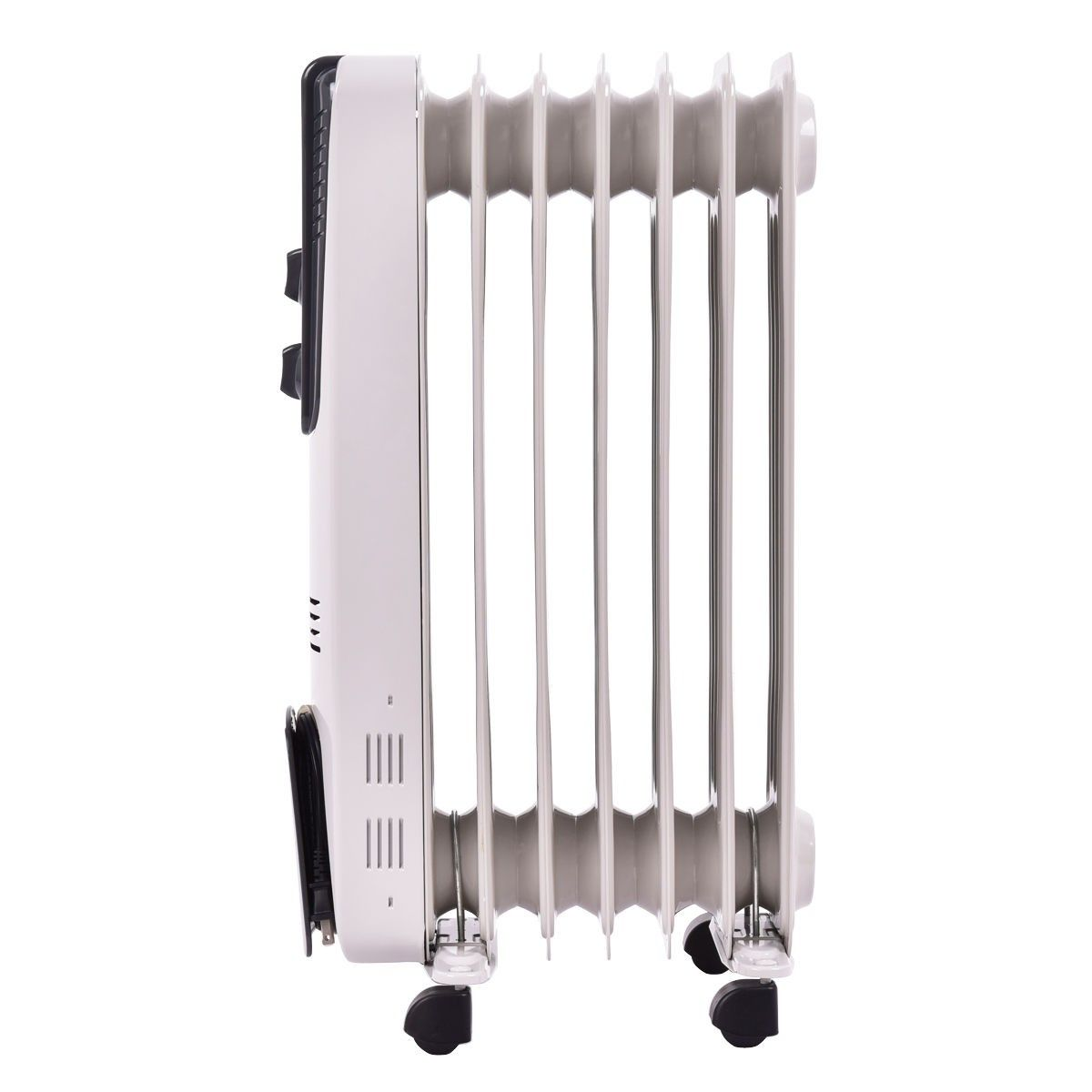 1500w Electric Oil Filled Radiator Space Heater 5 7 Fin Thermostat Room Radiant Household Appliances Home Amp Oil Filled Radiator Space Heater Radiators