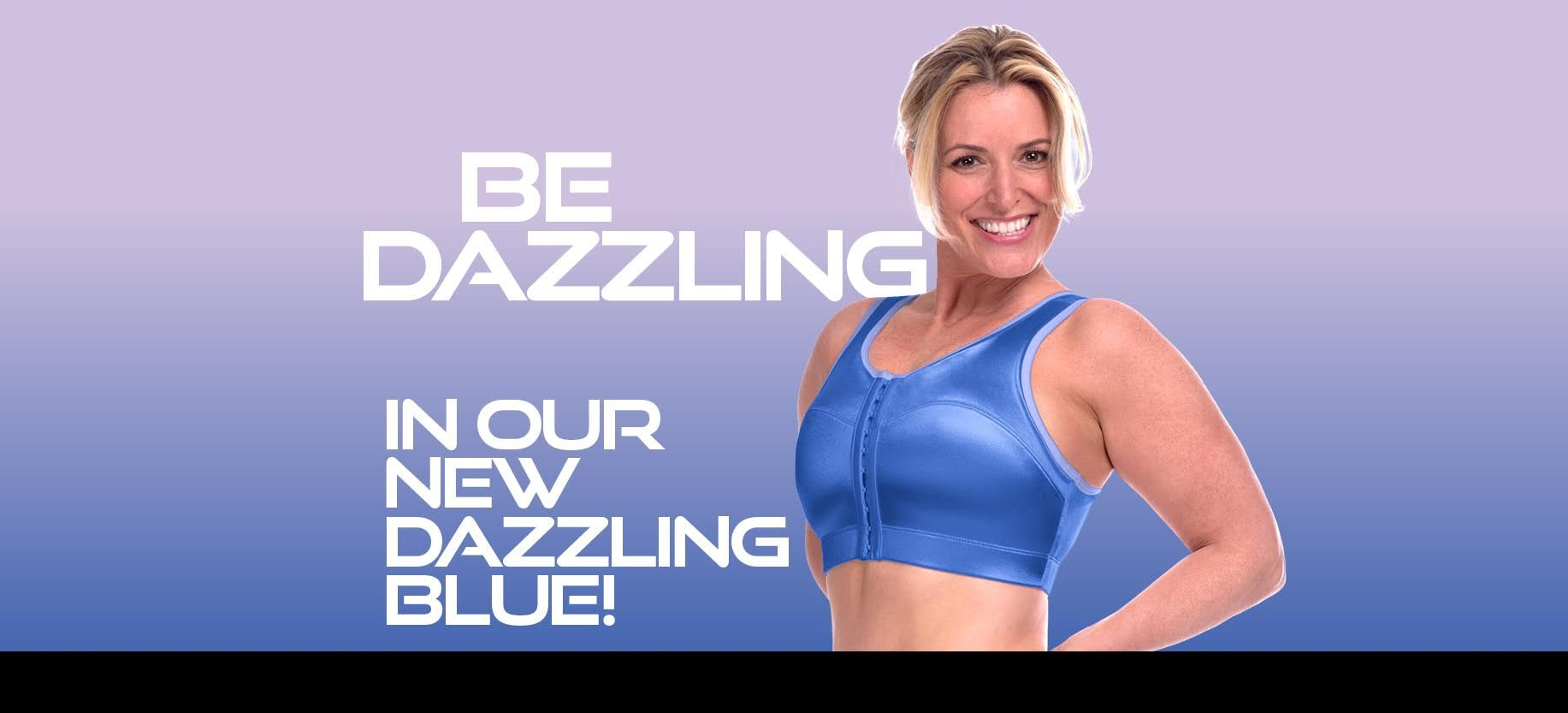 5a3c62642e1 New Limited Edition Dazzling Blue sports bra from ENELL