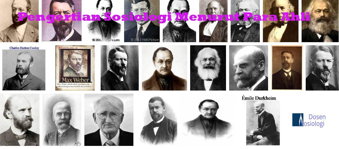 37 Pengertian Sosiologi Menurut Para Ahli Lengkap (Dengan ...