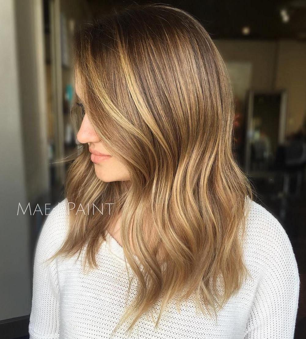 Medium length brown blonde hair hair pinterest brown blonde