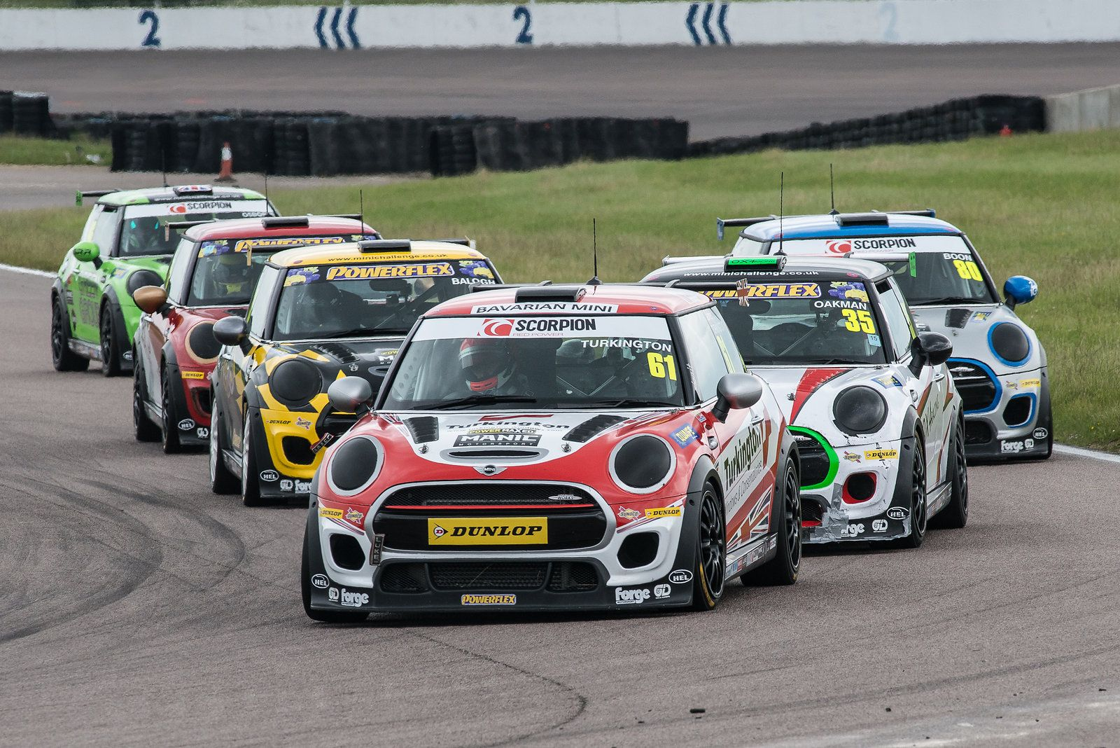 MINI CHALLENGE 16 Rockingham photo collection by DaveYoungPhotographics