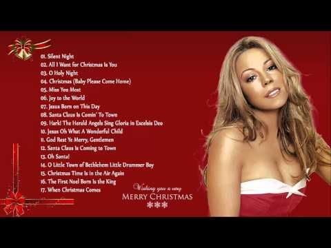 Christmas Songs By Mar... Mariah Carey Christmas Songs List