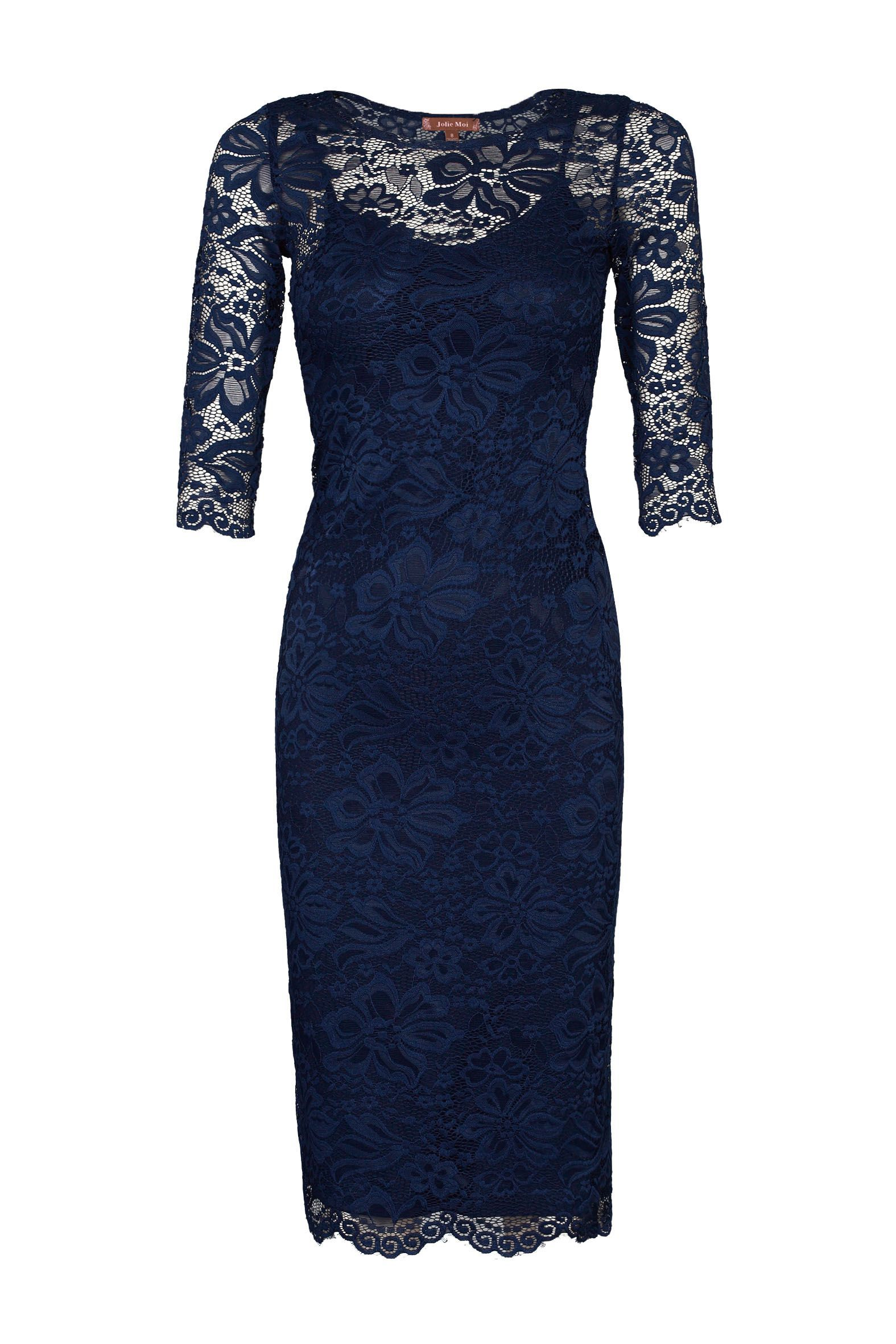 Lace dress navy  Executive Branches Dress In Navy  Info Once you add this navy