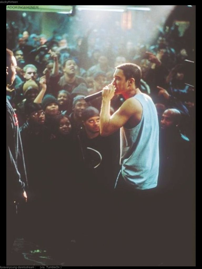8 Mile  Eminem marshall mathers slim shady b-rrabit stan like like like just for Eminem soldiers!! https://www.facebook.com/pages/Eminem-Soldiers-Colombia/1426507957568769