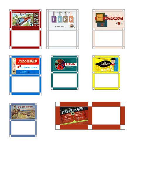 dollhouse printable boxes websites jennifer s dollhouse rh pinterest com Dollhouse Miniature Medical Printables Dollhouse Printable Console Games