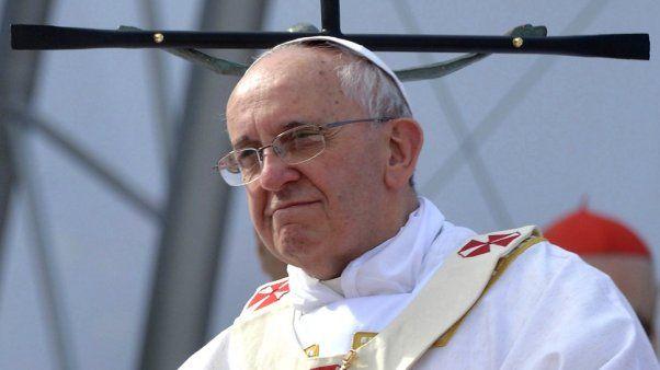 El papa Francisco condenó el uso de armas químicas