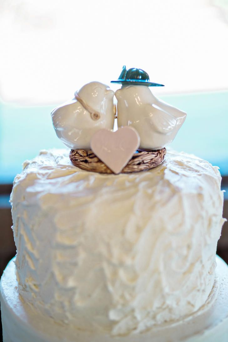 A Lovebird Cake Topper | Wedding Cake Toppers | Pinterest | Country ...