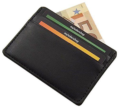 Extra Flaches Und Kleines Kreditkartenetui Scheckkartenetui