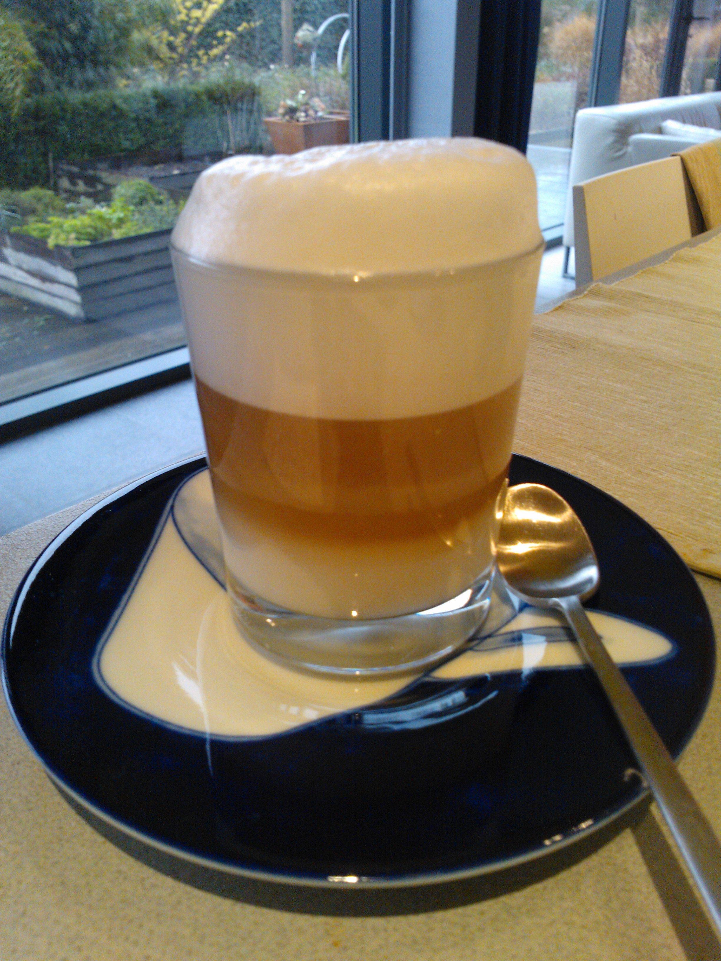 My home made latte mmmmmmmmm