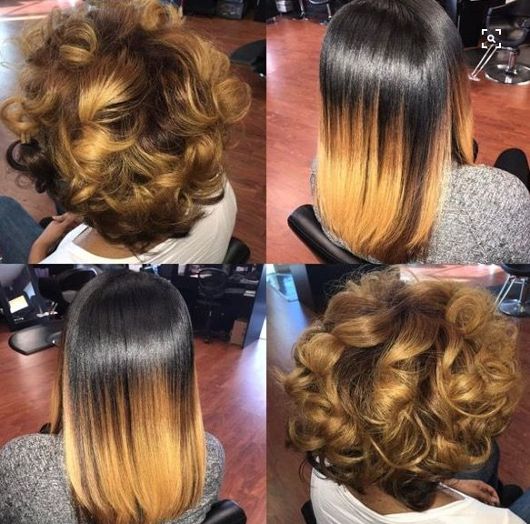 Honey Blonde With Images Pressed Natural Hair Silk Press