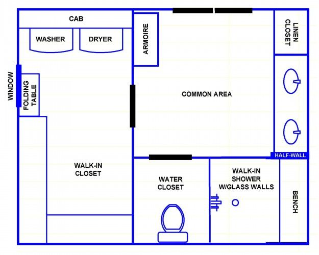 Small Bathroom Floor Plans Australia Google Search Master
