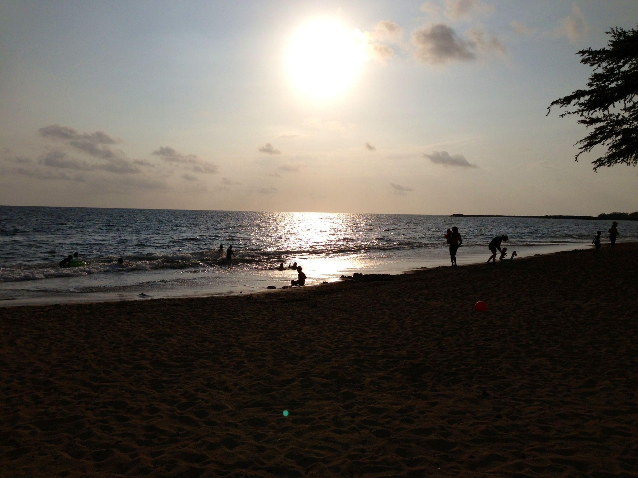 Evening at Spencer Beach, HI